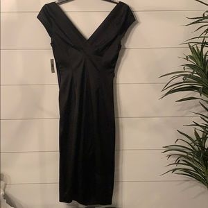NWT Maggie London Black Cocktail Dress